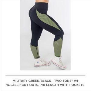 Pants - Curves N Combatboots High Waist Active Leggings